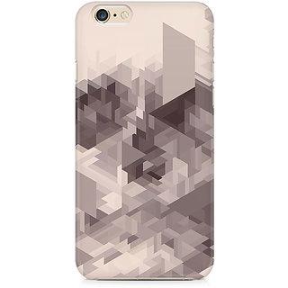 Zenith Randomised Triangles Premium Printed Cover For Apple iPhone 6 Plus/6s Plus