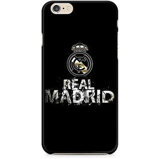 Zenith Real Madrid Premium Printed Cover For Apple iPhone 6 Plus/6s Plus