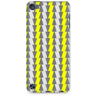 Zenith Yellow and White Cards Premium Printed Mobile cover For Apple iPod Touch 6