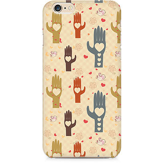 Zenith Heart in Hand Premium Printed Mobile cover For Apple iPhone 6/6s