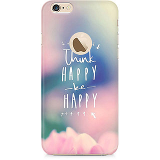 Zenith Be Happy Premium Printed Mobile cover For Apple iPhone 6/6s with hole