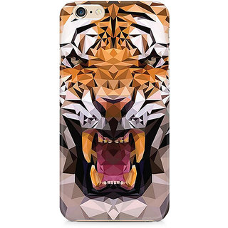 Zenith Roaring Tiger Premium Printed Cover For Apple iPhone 6 Plus/6s Plus