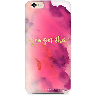 Zenith You Got This Premium Printed Mobile cover For Apple iPhone 6/6s