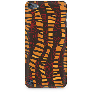 Zenith Cheetah Tribal Wave Premium Printed Mobile cover For Apple iPod Touch 6