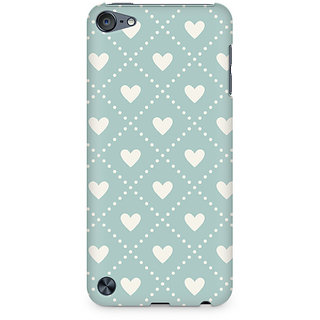 Zenith Heart Vintage Premium Printed Mobile cover For Apple iPod Touch 5