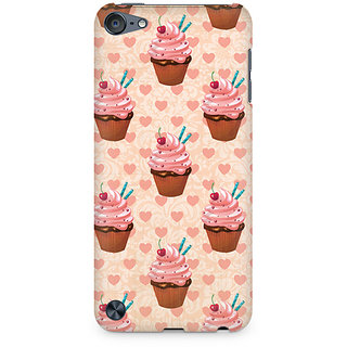 Zenith Stawberry Cupcakes Premium Printed Mobile cover For Apple iPod Touch 6