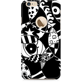 Zenith Random Abstract Premium Printed Mobile cover For Apple iPhone 6/6s with hole