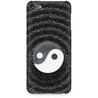 Zenith Yin and Yang Stones Premium Printed Mobile cover For Apple iPod Touch 5