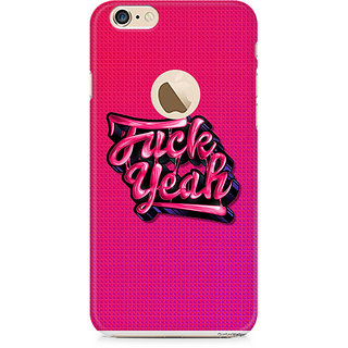 Zenith Fuck Yeah Premium Printed Mobile cover For Apple iPhone 6/6s with hole