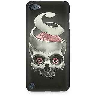 Zenith Open Your Brain Premium Printed Mobile cover For Apple iPod Touch 5