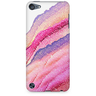 Zenith Pink Lava Premium Printed Mobile cover For Apple iPod Touch 6