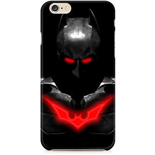 Zenith Red Eyed Batman Premium Printed Mobile cover For Apple iPhone 6/6s