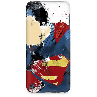 Zenith Superman Abstract Premium Printed Mobile cover For Apple iPod Touch 5