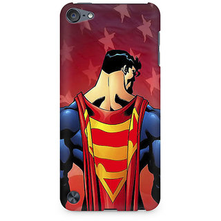 Zenith Superman Cape Premium Printed Mobile cover For Apple iPod Touch 5