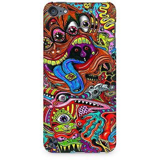Zenith Surreal Colorful Physchedelic Premium Printed Mobile cover For Apple iPod Touch 5