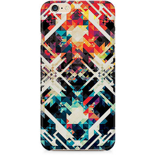 Zenith Two Square Abstract Premium Printed Cover For Apple iPhone 6 Plus/6s Plus