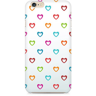 Zenith Colors of Love Premium Printed Mobile cover For Apple iPhone 6/6s