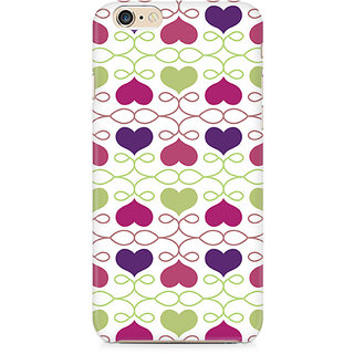 Zenith Heart Pattern Premium Printed Mobile cover For Apple iPhone 6/6s