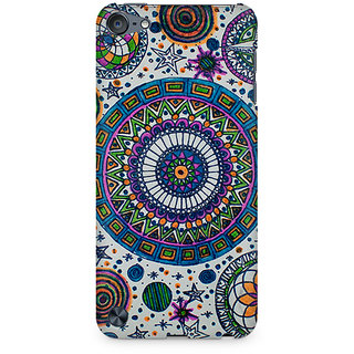 Zenith Abstract Colorful Premium Printed Mobile cover For Apple iPod Touch 6