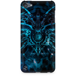 Zenith Abstract Pattern Premium Printed Mobile cover For Apple iPod Touch 6