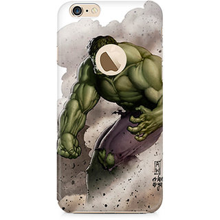 Zenith Hulk The Destroyer Premium Printed Mobile cover For Apple iPhone 6/6s with hole
