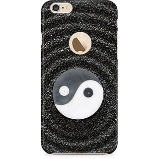 Zenith Yin and Yang Stones Premium Printed Mobile cover For Apple iPhone 6/6s with hole