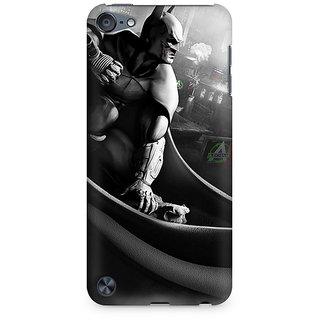 Zenith Batman Cloak City Fist Premium Printed Mobile cover For Apple iPod Touch 6