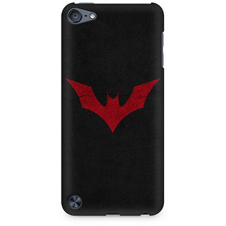 Zenith Batman Red Logo Premium Printed Mobile cover For Apple iPod Touch 6