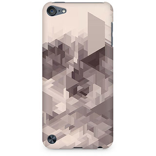Zenith Randomised Triangles Premium Printed Mobile cover For Apple iPod Touch 6