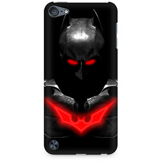 Zenith Red Eyed Batman Premium Printed Mobile cover For Apple iPod Touch 6