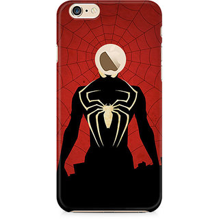 Zenith Spiderman In Black Premium Printed Mobile cover For Apple iPhone 6/6s with hole