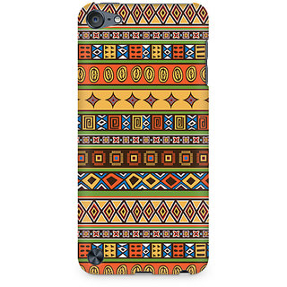 Zenith Tile Abstract Geometric Premium Printed Mobile cover For Apple iPod Touch 6