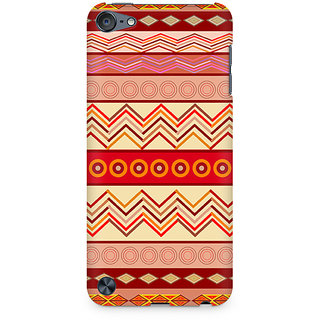 Zenith Tribal Chevron Premium Printed Mobile cover For Apple iPod Touch 6