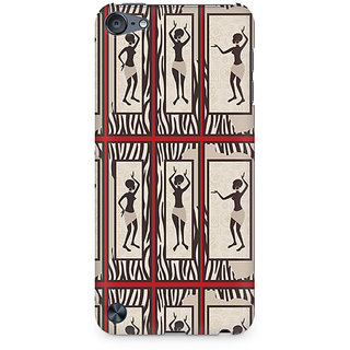 Zenith Tribal Dance Premium Printed Mobile cover For Apple iPod Touch 6