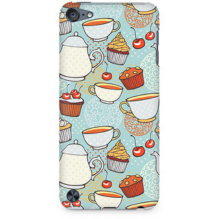 Zenith Cakes and Tea Premium Printed Mobile cover For Apple iPod Touch 6