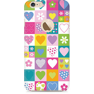 Zenith Abstract Hearts Premium Printed Mobile cover For Apple iPhone 6/6s with hole