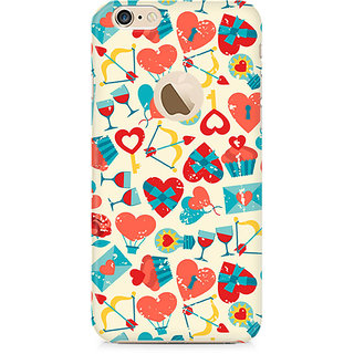 Zenith Be my Valentine Premium Printed Mobile cover For Apple iPhone 6/6s with hole