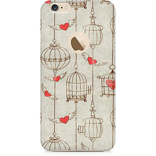 Zenith Cage of Love Premium Printed Mobile cover For Apple iPhone 6/6s with hole