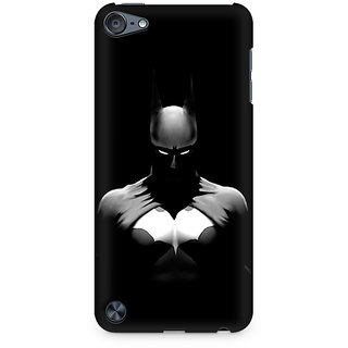 Zenith Batman Silhoutte Premium Printed Mobile cover For Apple iPod Touch 6