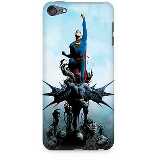 Zenith Batman vs Superman Comic Premium Printed Mobile cover For Apple iPod Touch 6