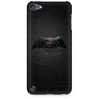 Zenith Batman vs Superman Logo Premium Printed Mobile cover For Apple iPod Touch 6