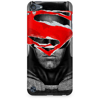 Zenith Batman With Superman Logo Premium Printed Mobile cover For Apple iPod Touch 6