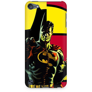 Zenith Batman within Superman Premium Printed Mobile cover For Apple iPod Touch 6