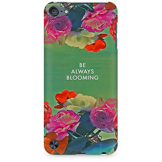 Zenith Be Always Blooming Premium Printed Mobile cover For Apple iPod Touch 6