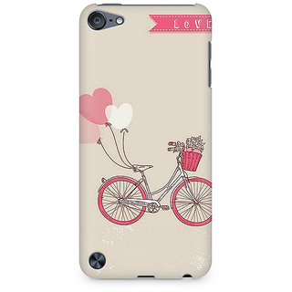 Zenith Bicycle Love Premium Printed Mobile cover For Apple iPod Touch 6
