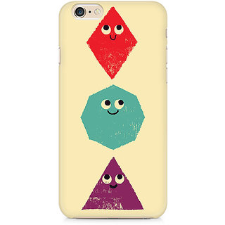 Zenith Geometric Monsters Premium Printed Mobile cover For Apple iPhone 6/6s