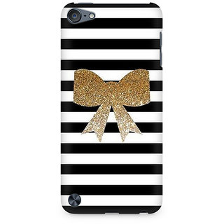 Zenith Golden Bow Premium Printed Mobile cover For Apple iPod Touch 5