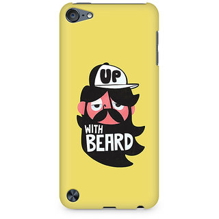 Zenith Grow-with-Beard Premium Printed Mobile cover For Apple iPod Touch 5