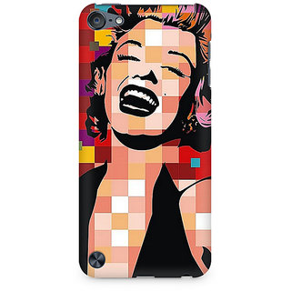 Zenith Retro Monroe Premium Printed Mobile cover For Apple iPod Touch 6
