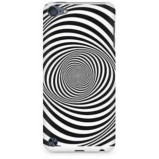 Zenith Revolving Illusion Premium Printed Mobile cover For Apple iPod Touch 6